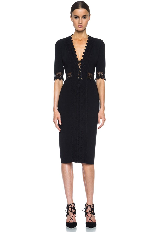 Image 1 of Altuzarra Greco Triacetate-Blend Dress in Black