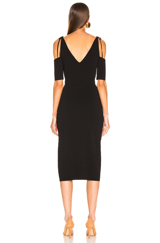 Image 4 of Altuzarra Giovanna Slit Midi Dress in Black