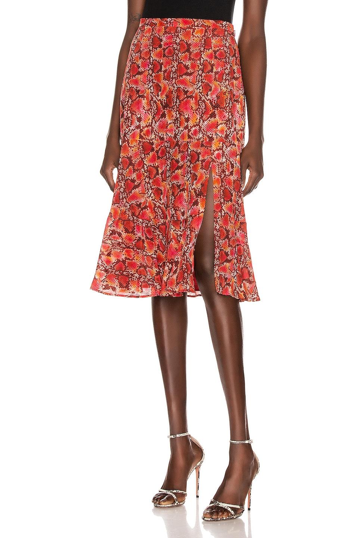 Image 1 of Altuzarra Clementine Skirt in Mulberry