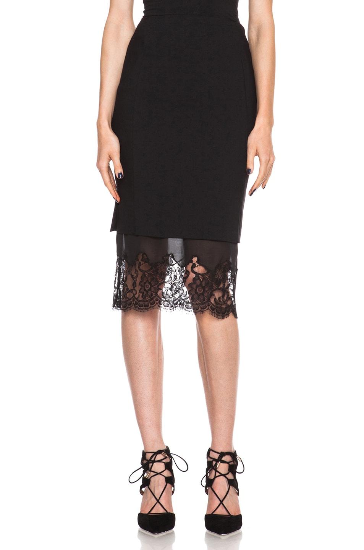 Image 1 of Altuzarra Kepi Viscose-Blend Skirt in Black