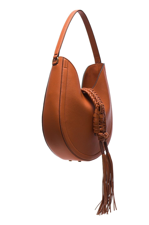aefc1ef4a3f1 Image 3 of Altuzarra Ghianda Hobo Knot Small Bag in Caramel