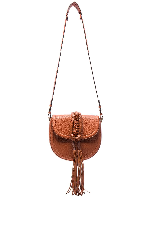 Image 1 of Altuzarra Ghianda Saddle Knot Bag in Caramel