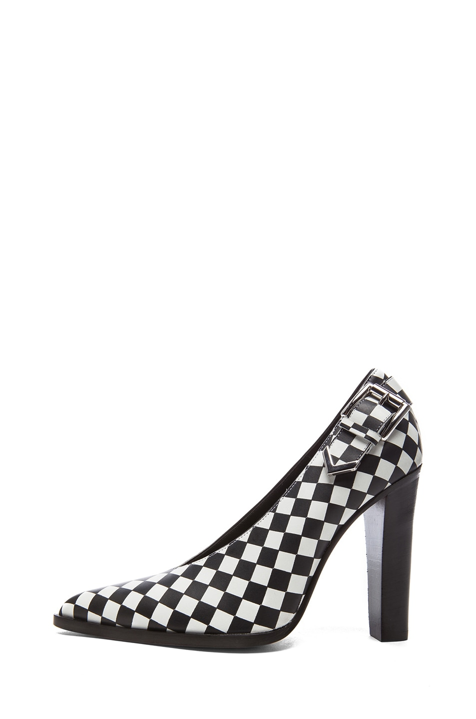 Image 1 of Altuzarra Leather Heels in Check
