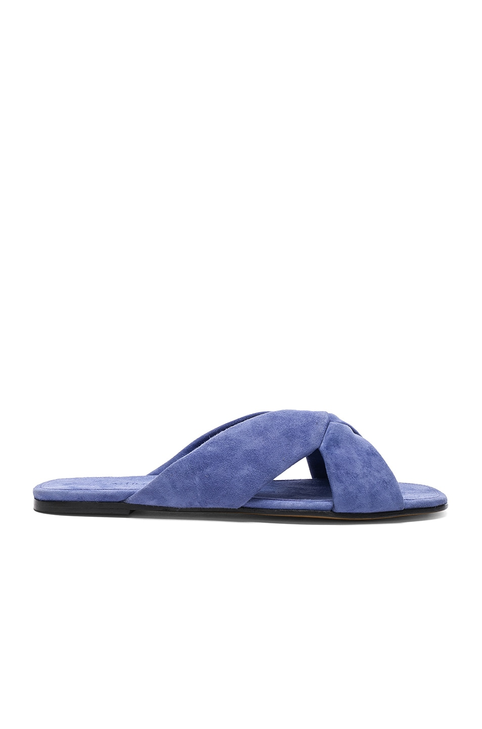 Image 1 of ALUMNAE Soft X Slide Sandals in Camoscio Dawn