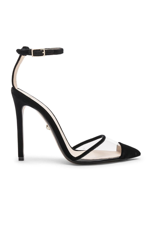 Image 1 of ALEVI Milano Alevi Bianca Heel in Velvet Black