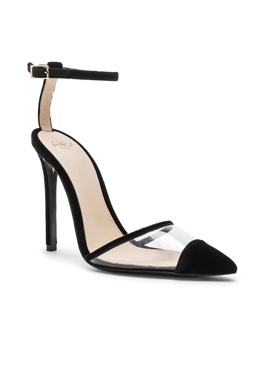 Image 2 of ALEVI Milano Alevi Bianca Heel in Velvet Black