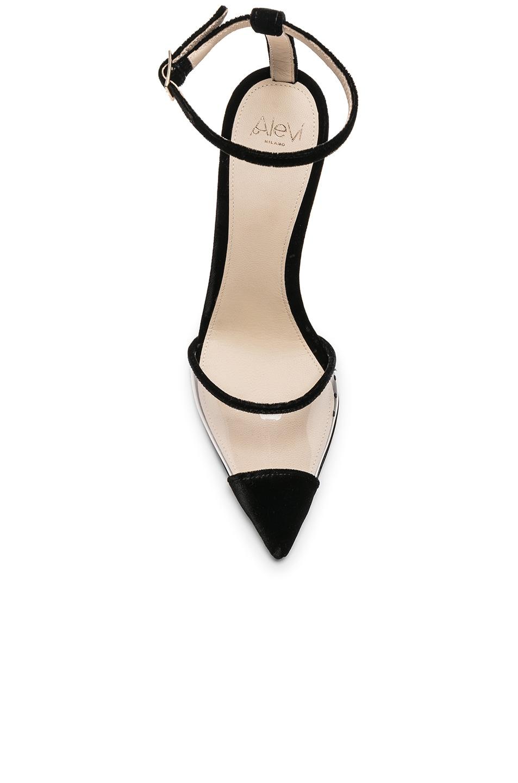 Image 4 of ALEVI Milano Alevi Bianca Heel in Velvet Black