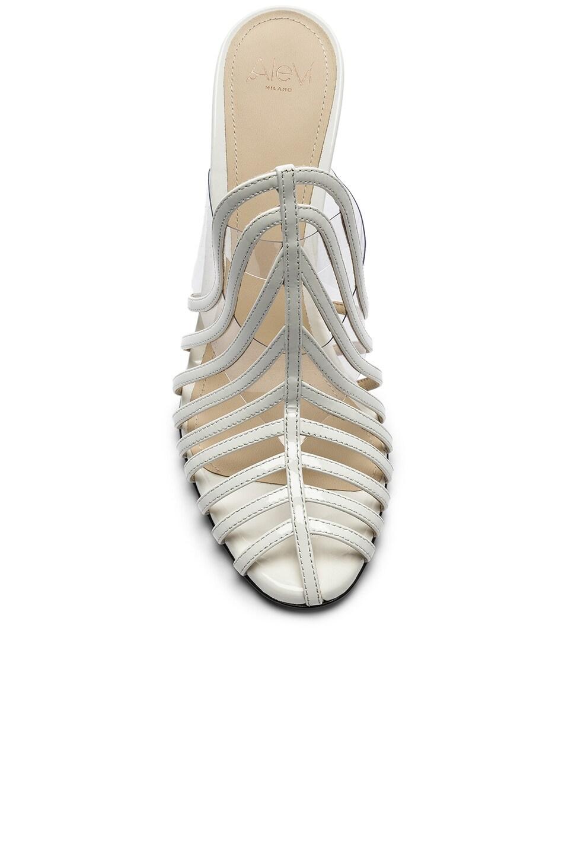 Image 4 of ALEVI Milano Alevi Alessandra Mule in Patent White