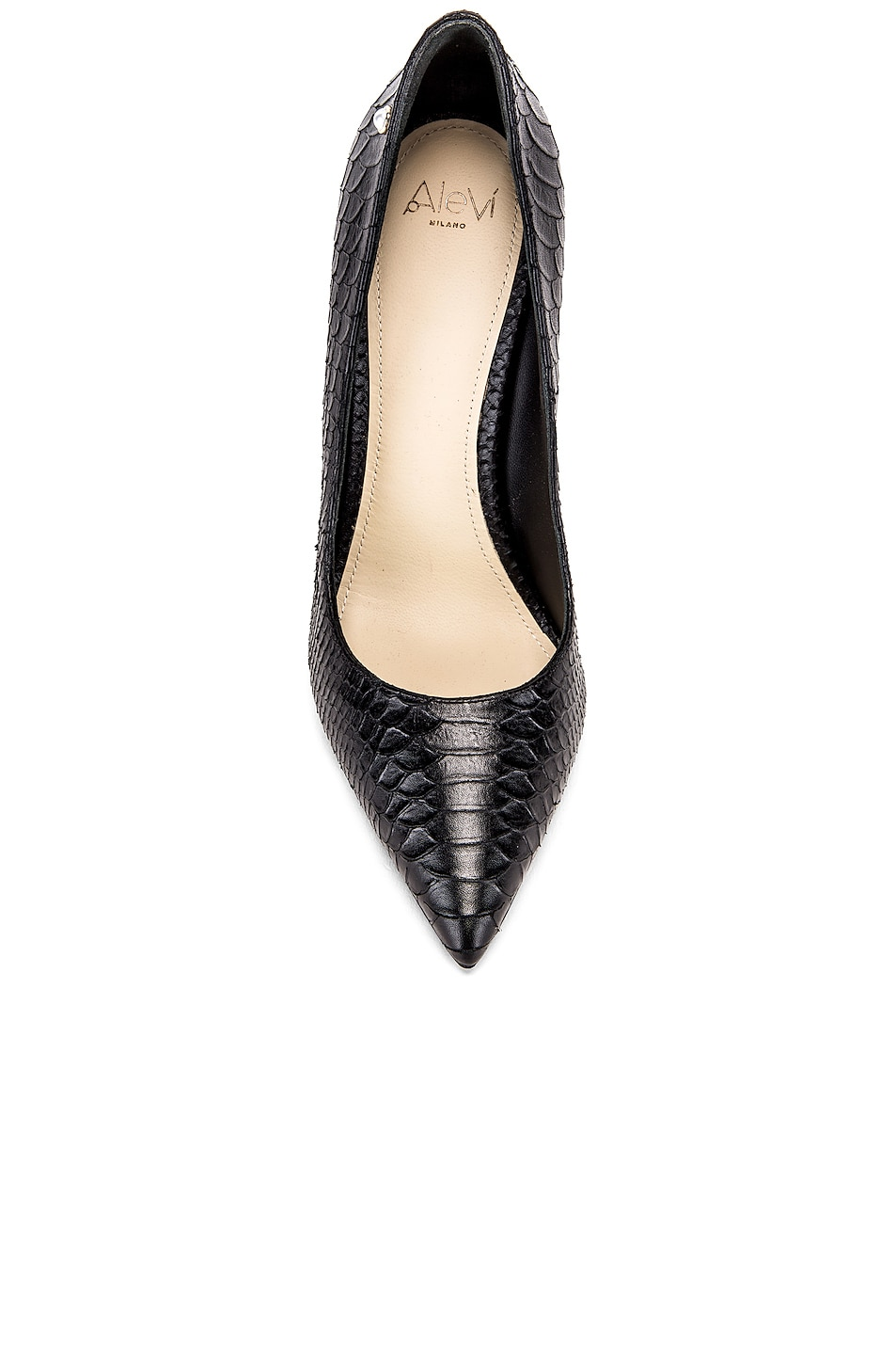 Image 4 of ALEVI Milano Alevi Carrie Pump in Black Snake