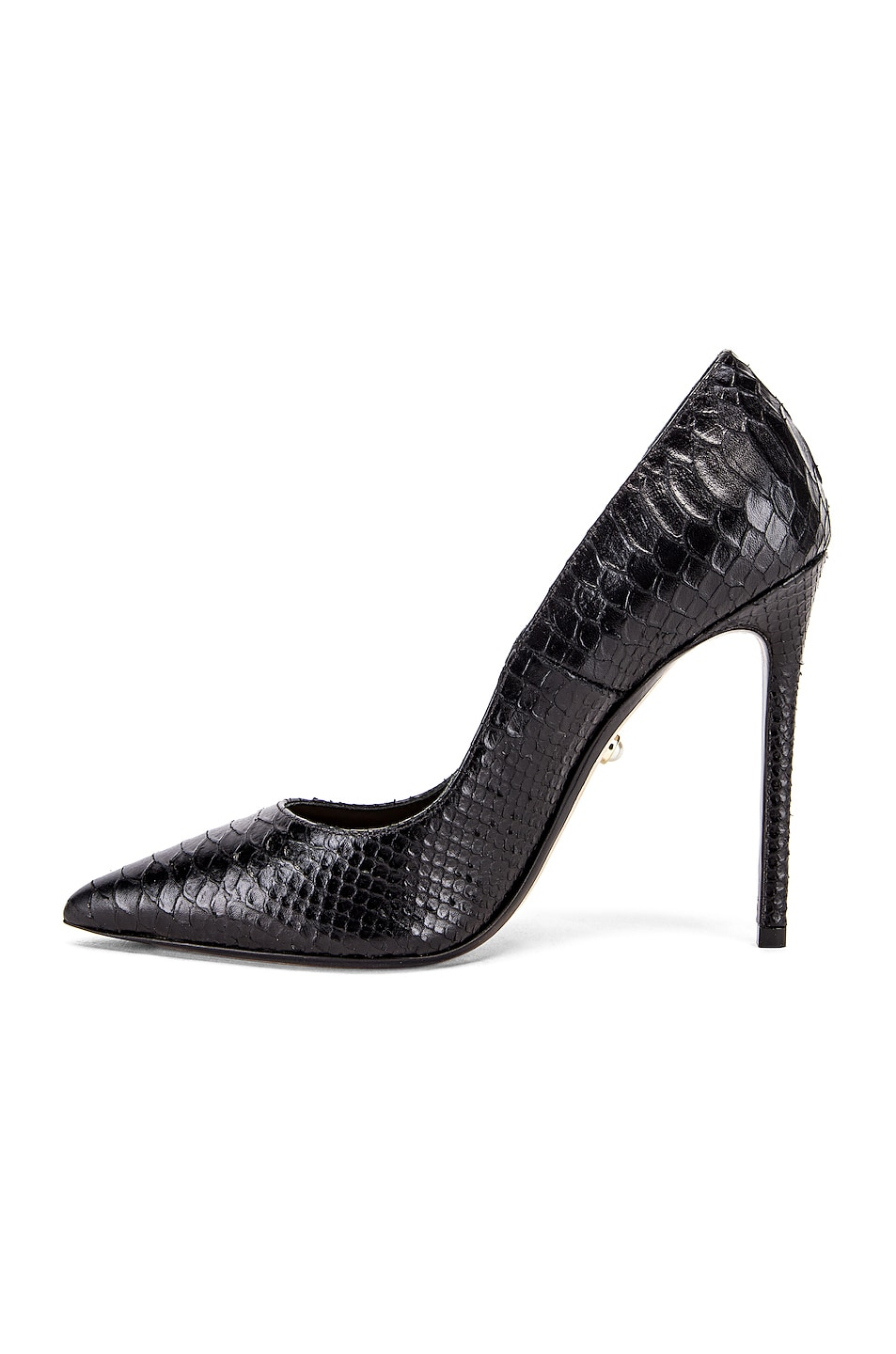 Image 5 of ALEVI Milano Alevi Carrie Pump in Black Snake