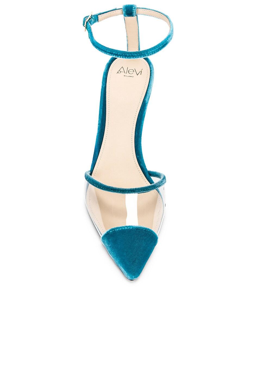Image 4 of ALEVI Milano Alevi Sara Heel in Velvet Ocean