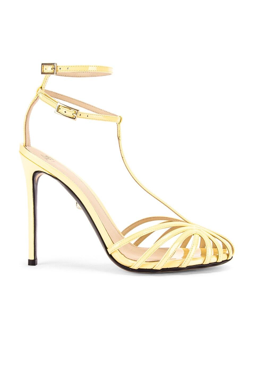 Image 1 of ALEVI Milano Stella Sandal in Patent Sun