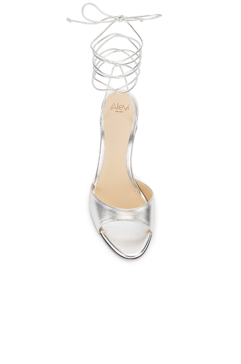 Image 4 of ALEVI Milano Lucy Sandal in Shine Silver
