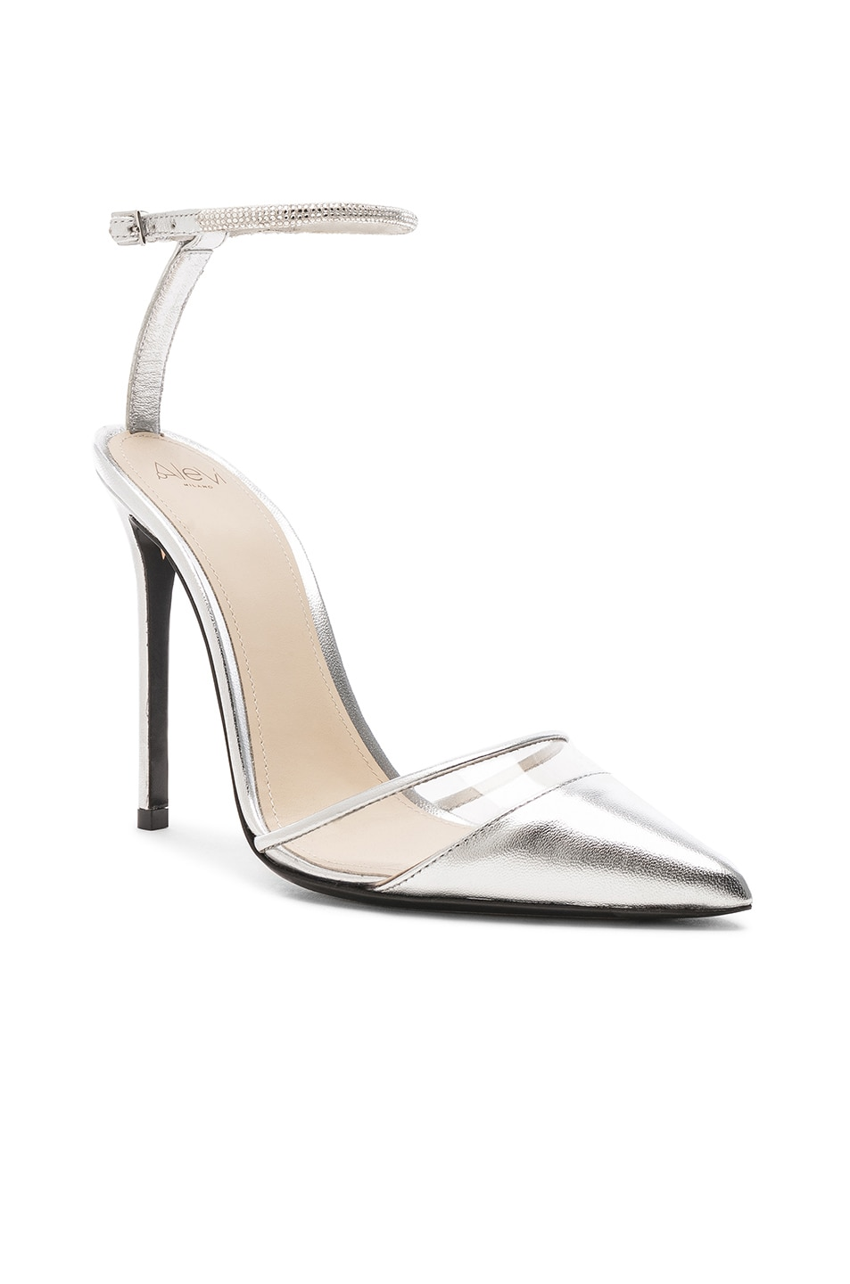 Image 2 of ALEVI Milano Alevi Alice Heel in Shine Silver