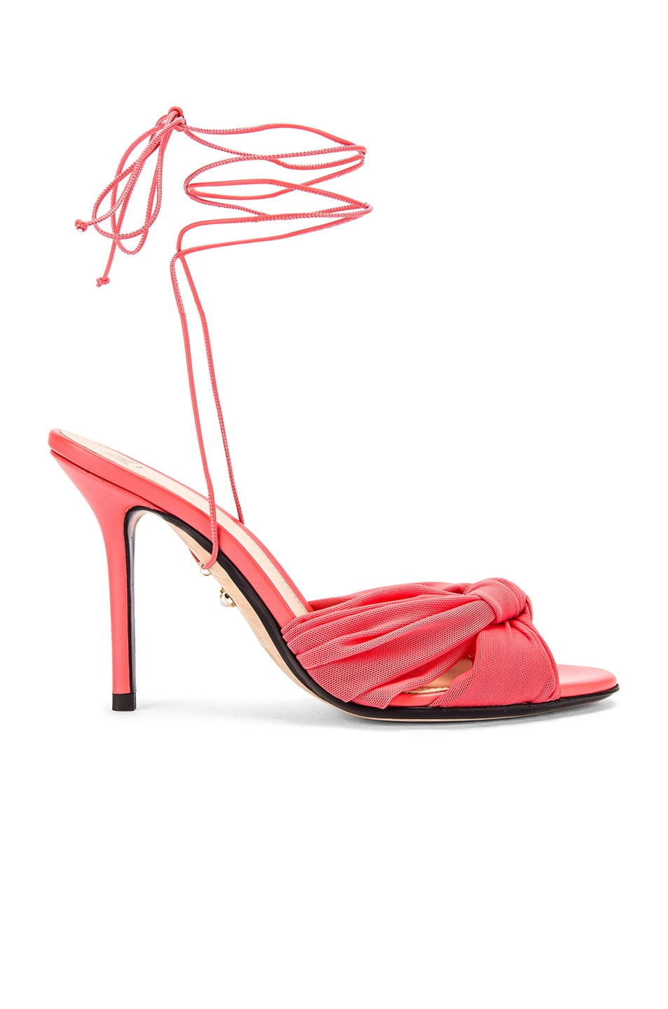 Image 1 of ALEVI Milano Vichy Sandal in Net Coral