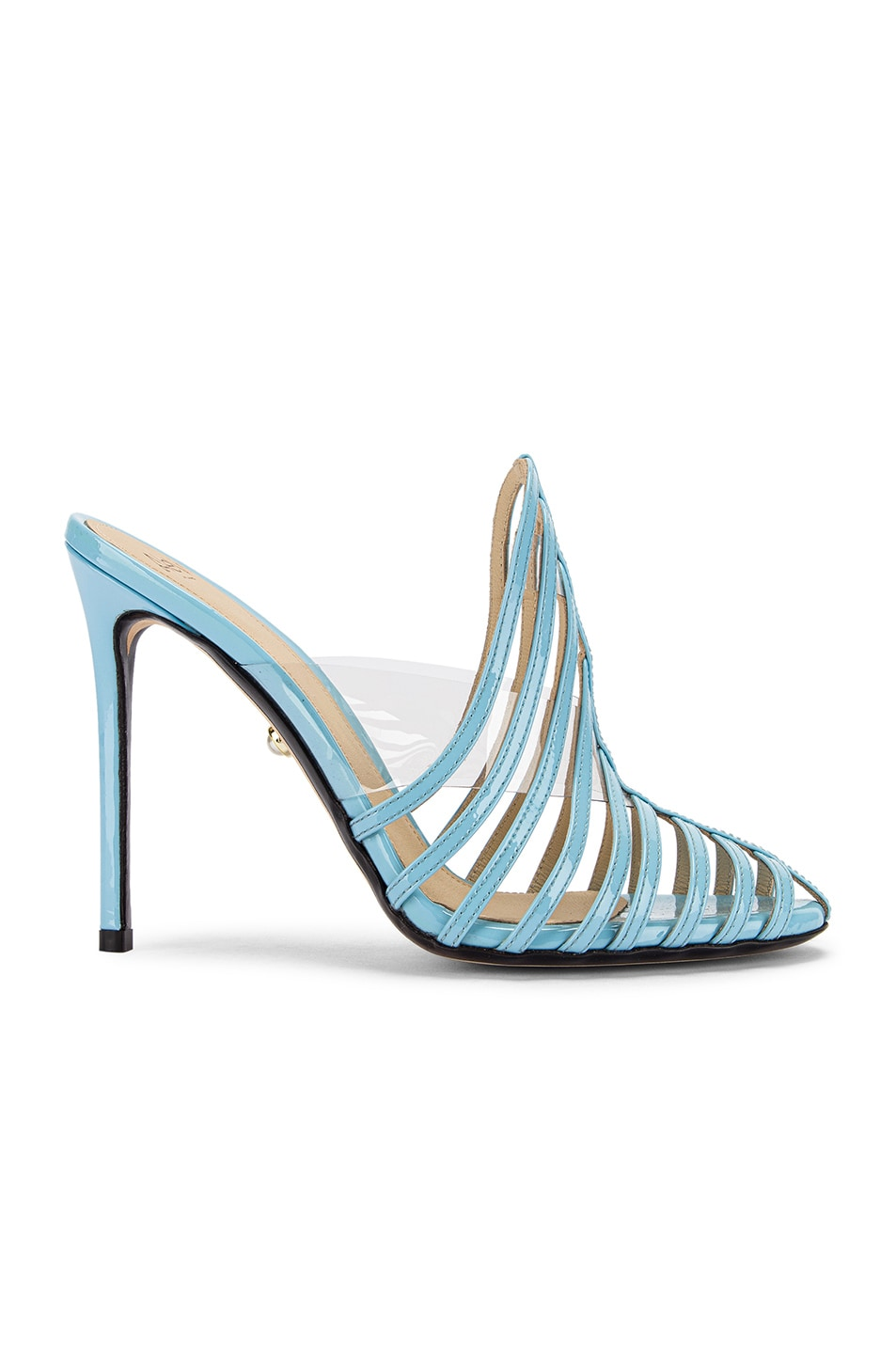 Image 1 of ALEVI Milano Alessandra Mule in Patent Sky