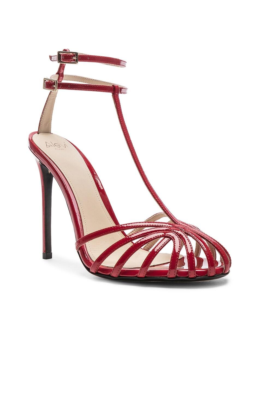 Image 2 of ALEVI Milano Alevi Stella Sandal in Patent Red