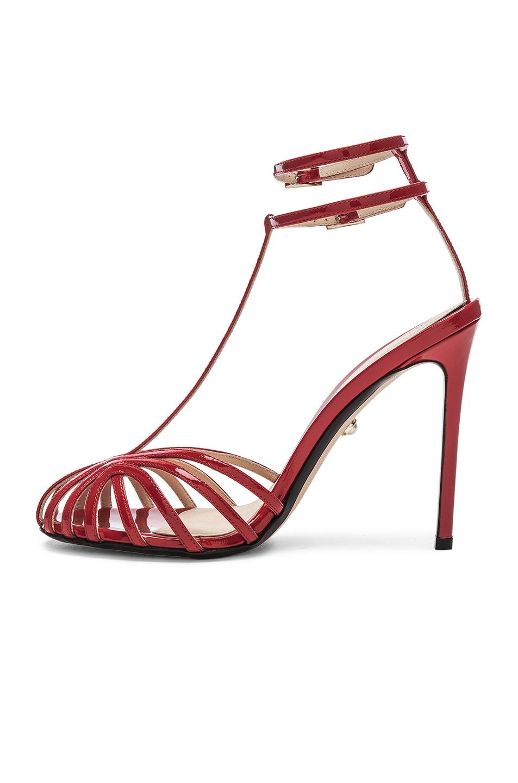 Image 5 of ALEVI Milano Alevi Stella Sandal in Patent Red