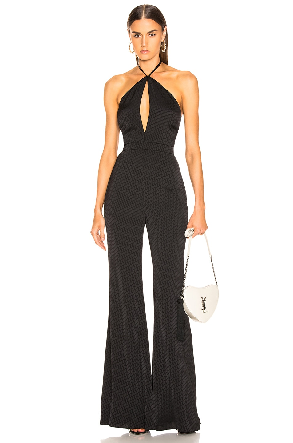 Image 1 of Alexis Naila Jumpsuit in Geo Black Print