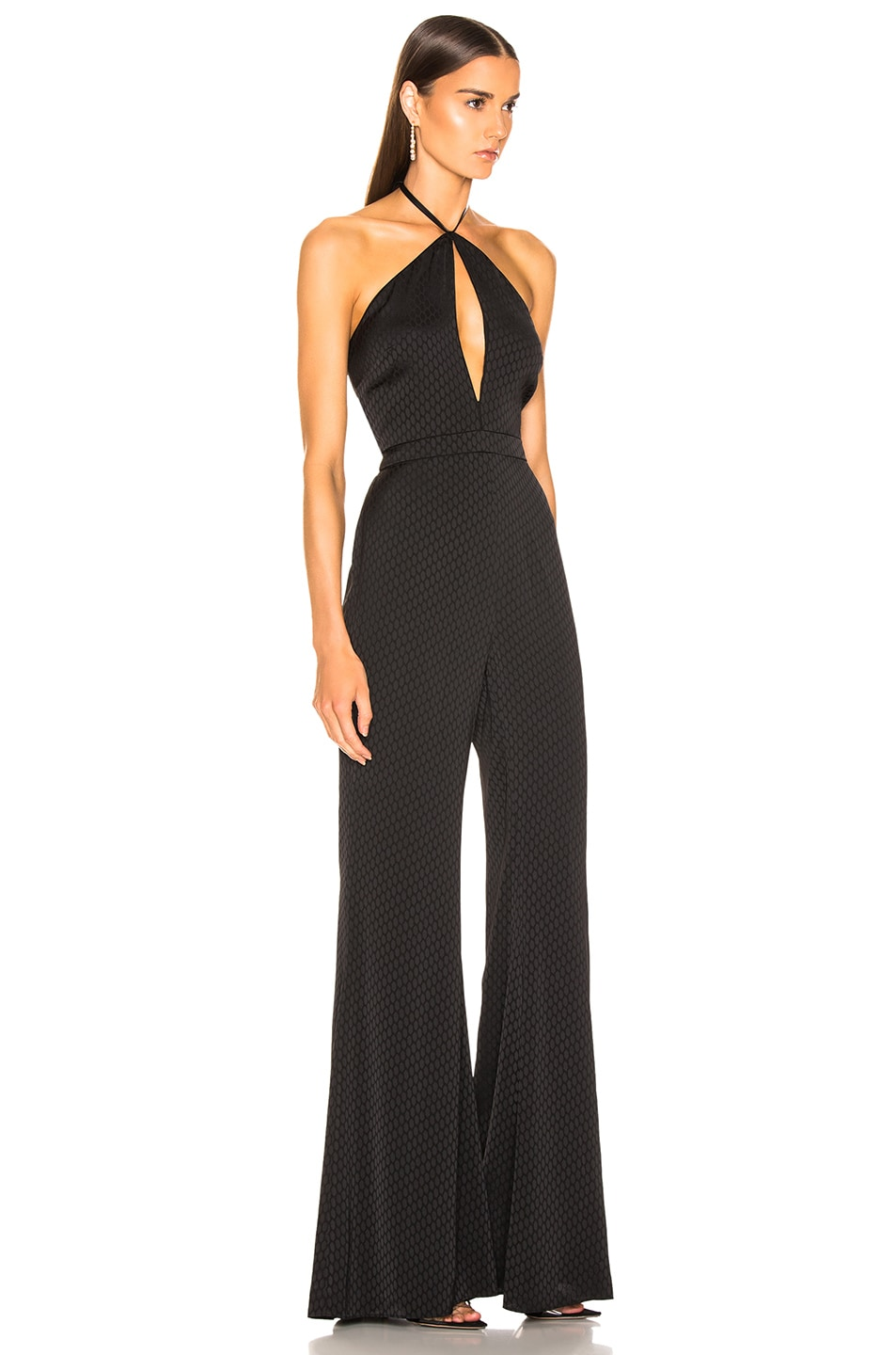 Image 2 of Alexis Naila Jumpsuit in Geo Black Print