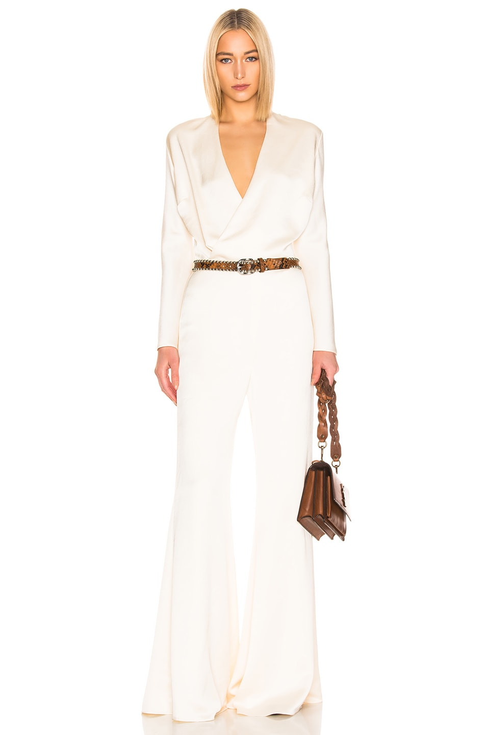 Image 1 of Alexis Raine Jumpsuit in Ivory