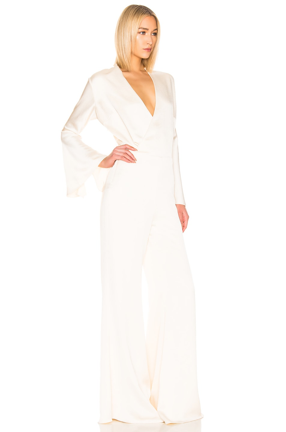 Image 2 of Alexis Raine Jumpsuit in Ivory