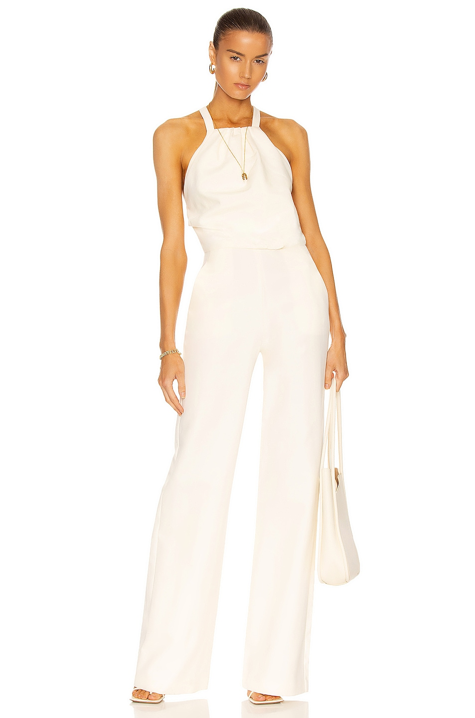 Image 1 of Alexis Oliveira Jumpsuit in Off White