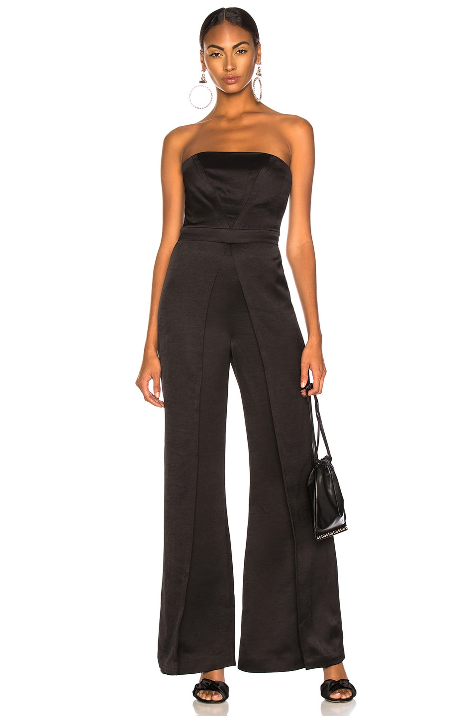 Image 1 of Alexis Noemie Jumpsuit in Black