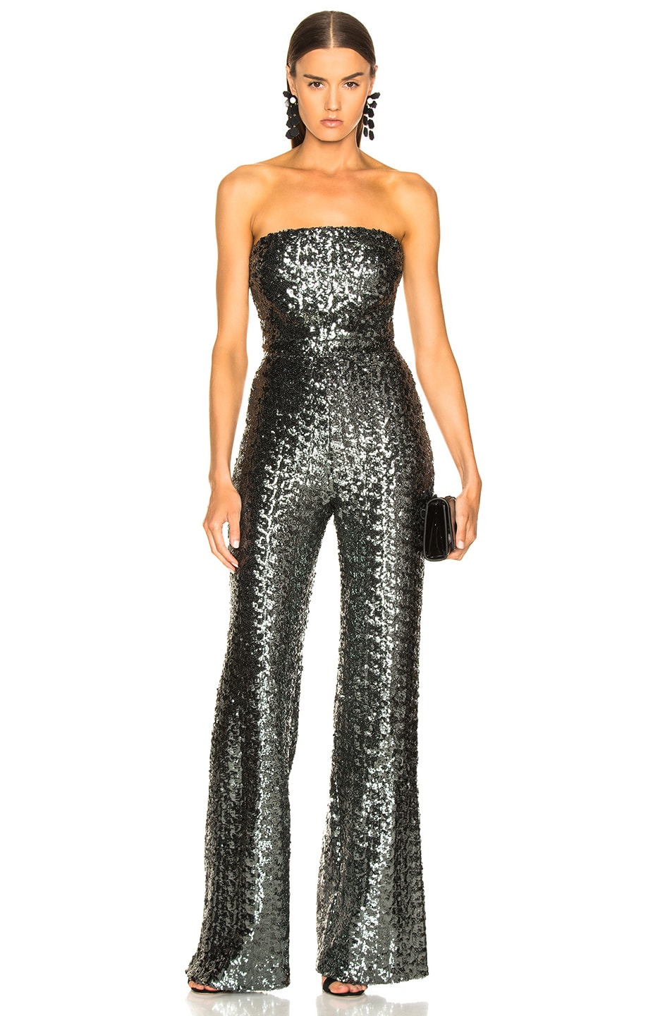 Image 1 of Alexis Carleen Jumpsuit in Sequins