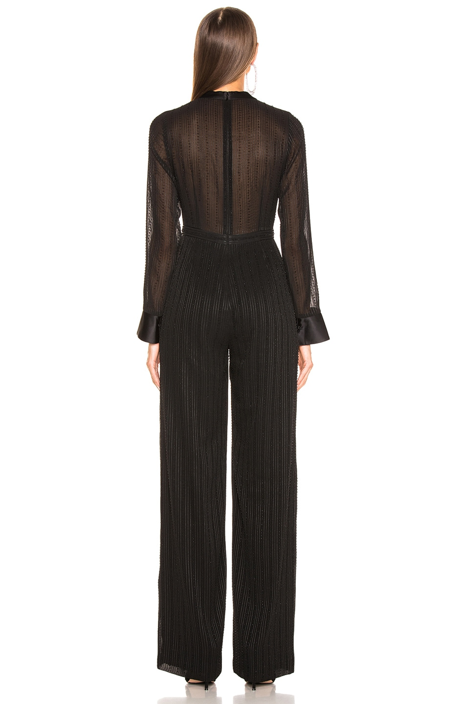 Image 3 of Alexis Harvelle Jumpsuit in Beaded Black