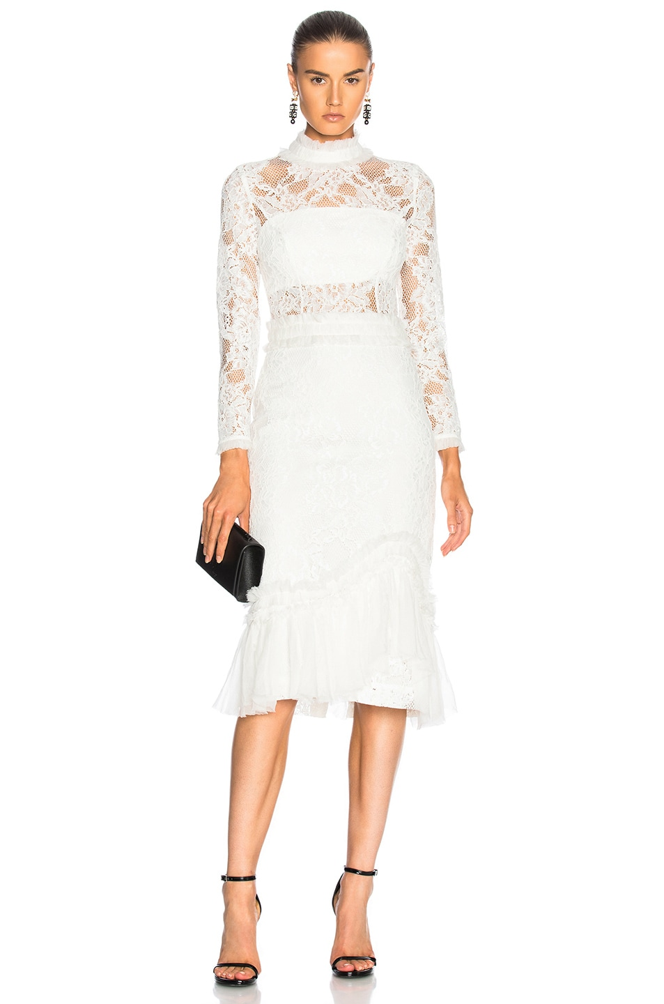 Image 1 of Alexis Anabella Dress in White