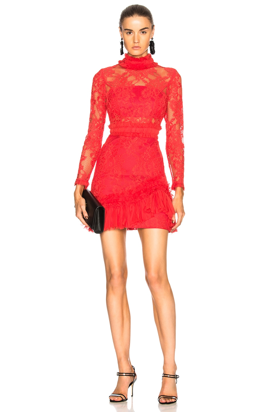 f41cd9049aa Image 1 of Alexis Wilhemina Dress in Red