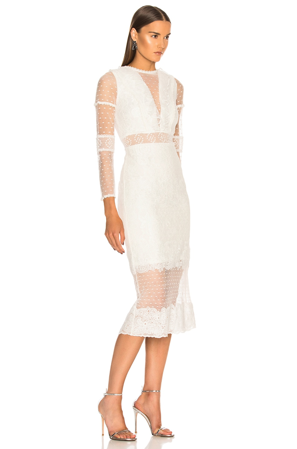 Image 2 of Alexis Elize Dress in White Lace