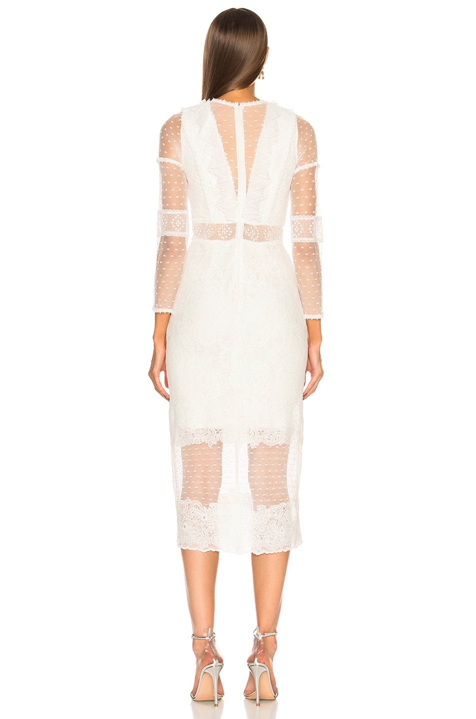 Image 3 of Alexis Elize Dress in White Lace