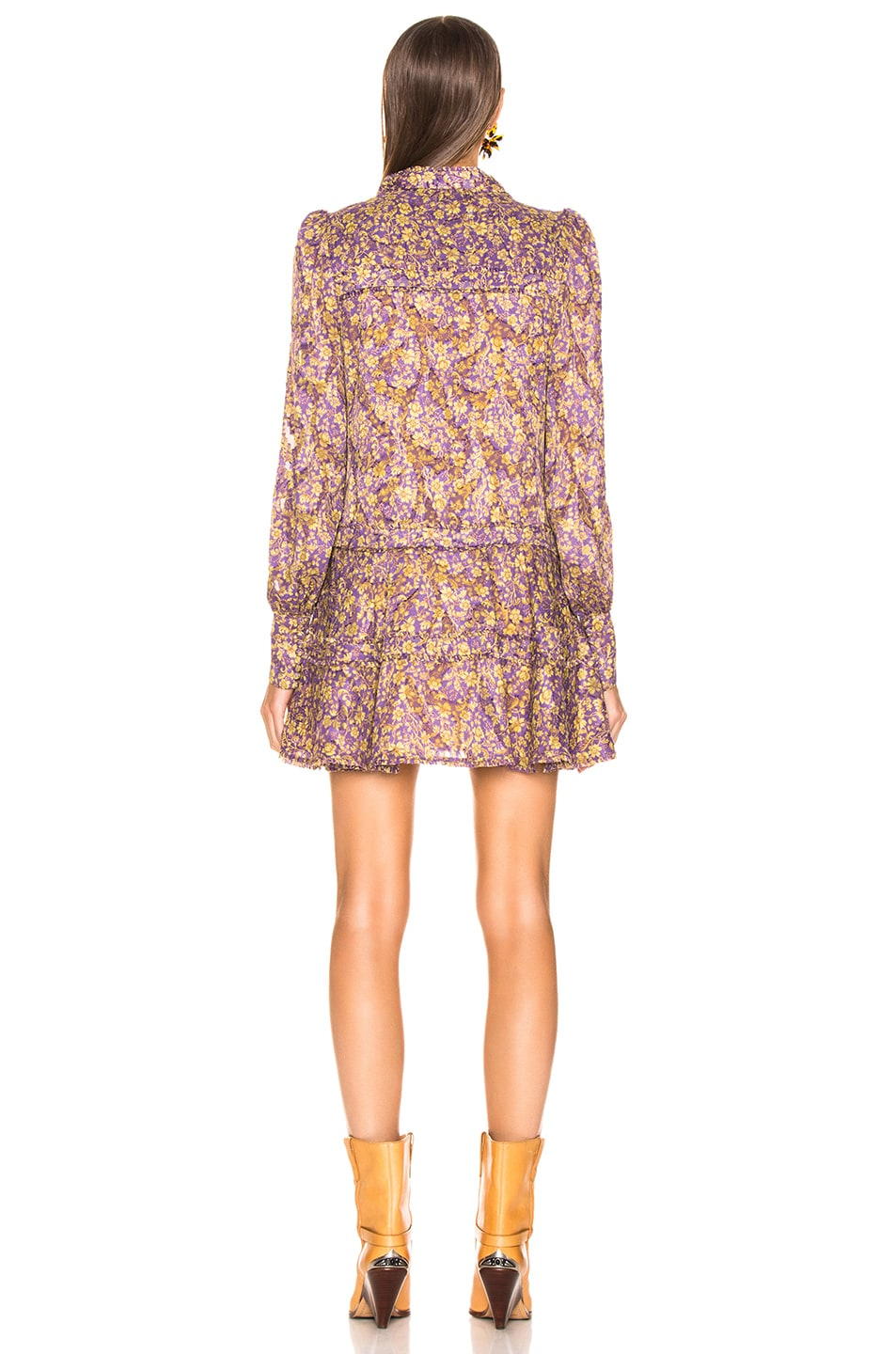 Image 3 of Alexis Monika Dress in Purple Floral