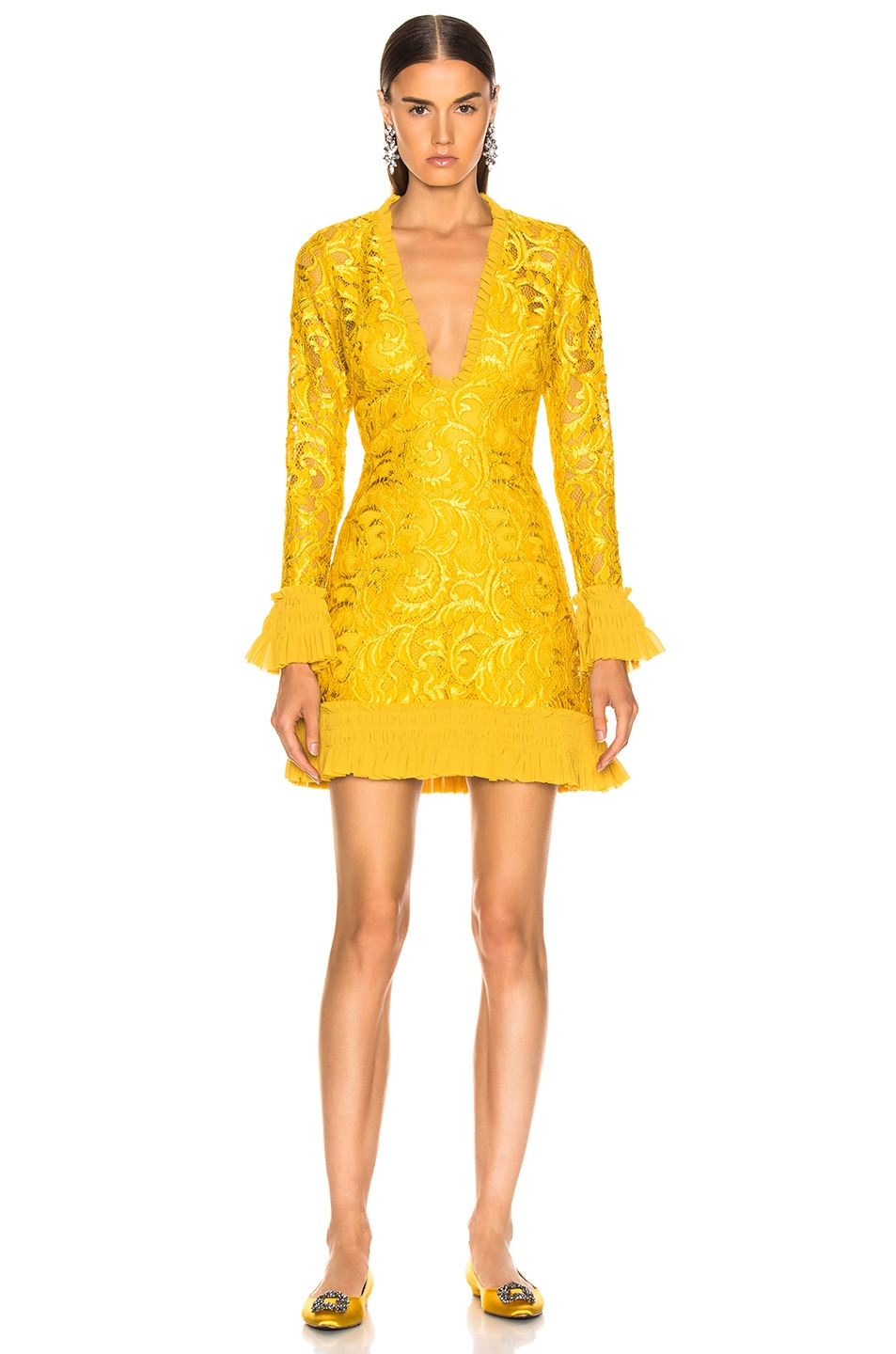 Image 2 of Alexis Nuray Dress in Gold Lace