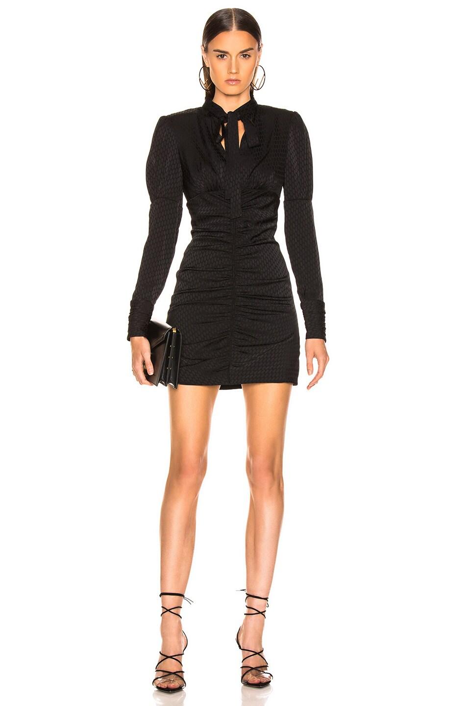 Image 1 of Alexis Lindon Dress in Geo Black Print