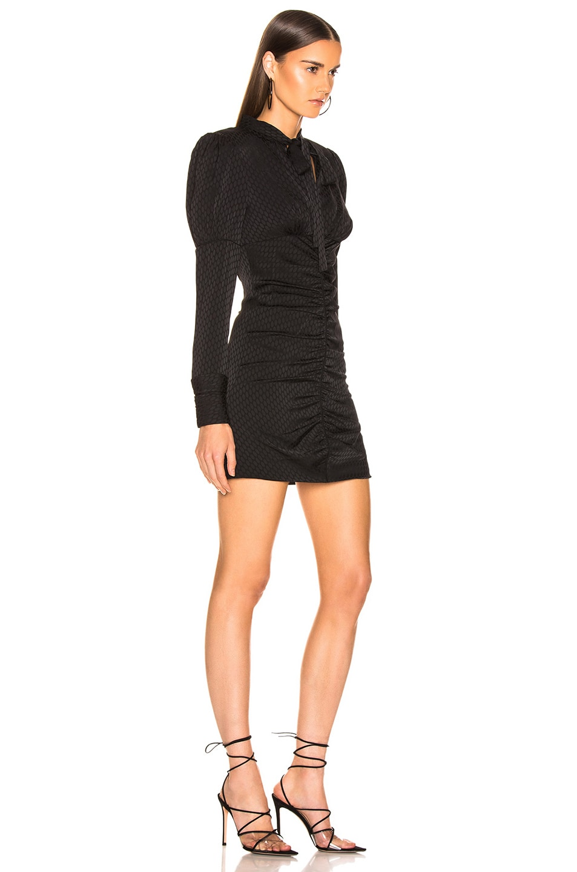 Image 2 of Alexis Lindon Dress in Geo Black Print