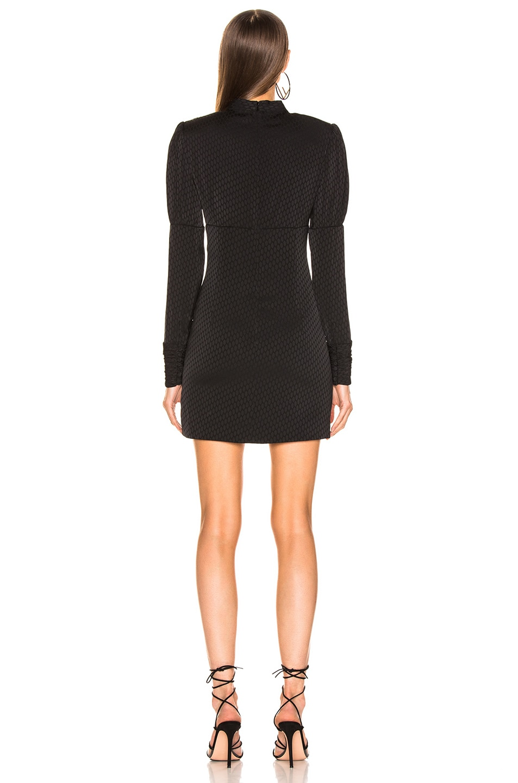 Image 3 of Alexis Lindon Dress in Geo Black Print
