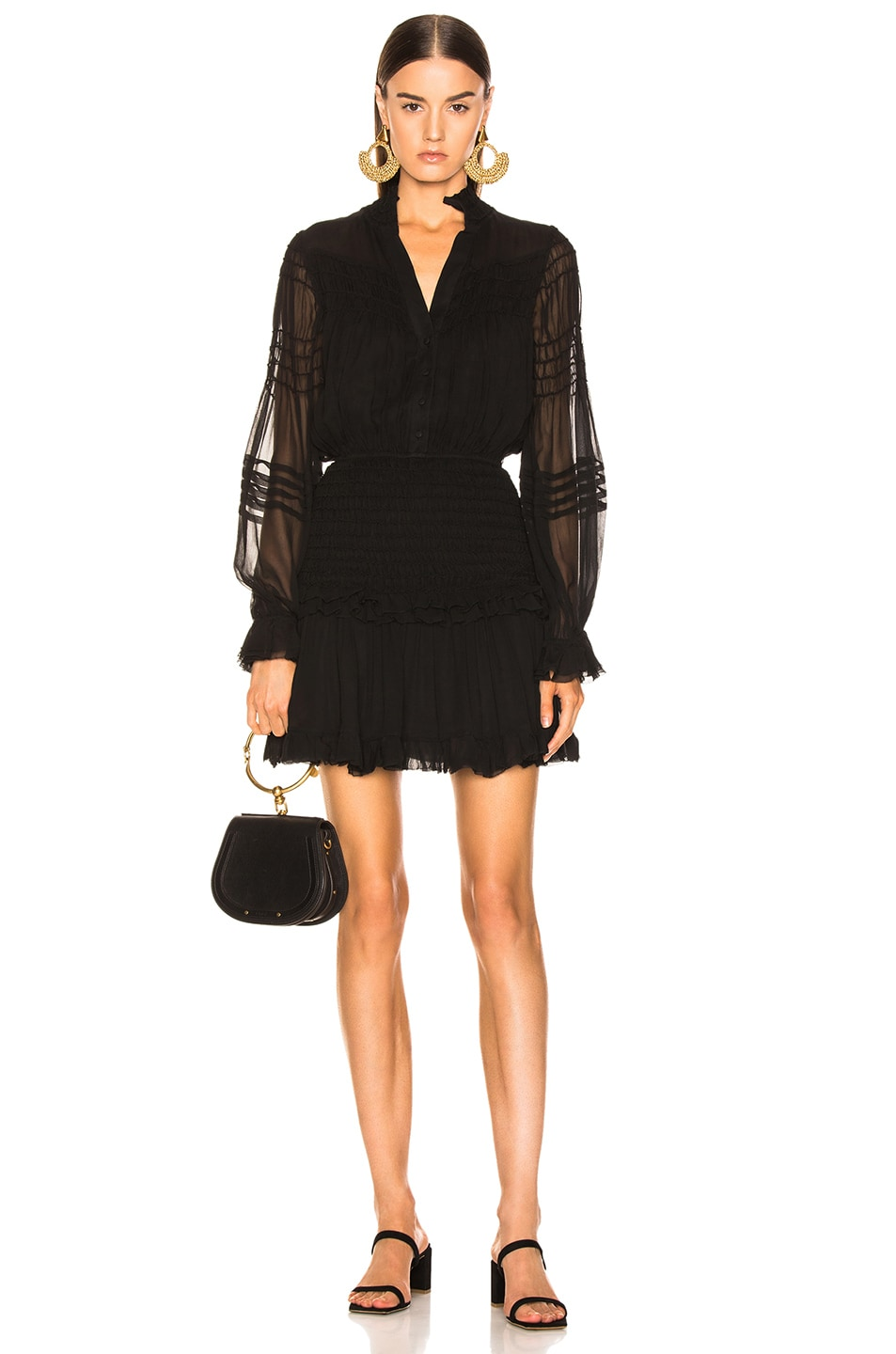 Image 1 of Alexis Shaina Dress in Black