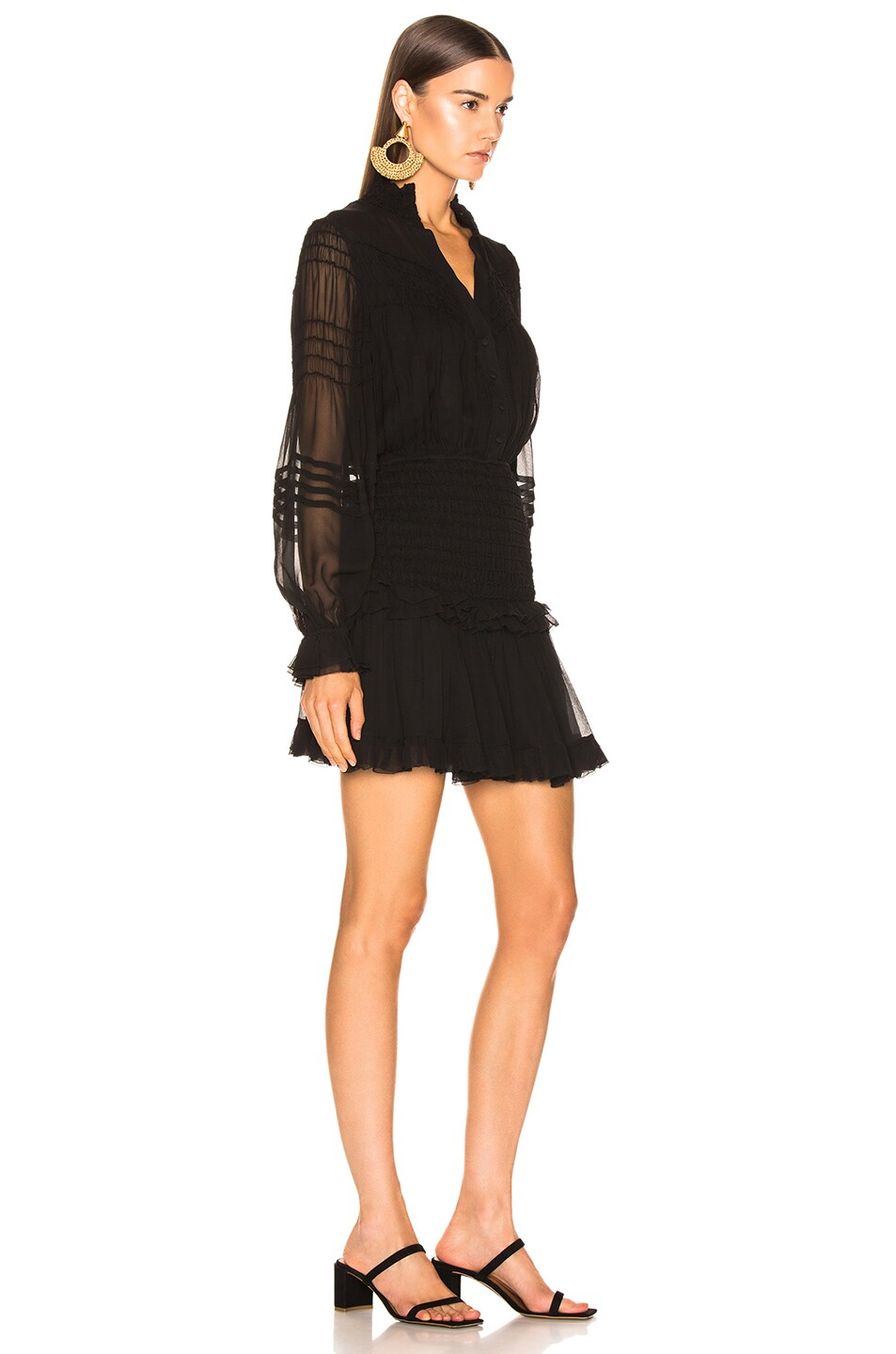 Image 2 of Alexis Shaina Dress in Black