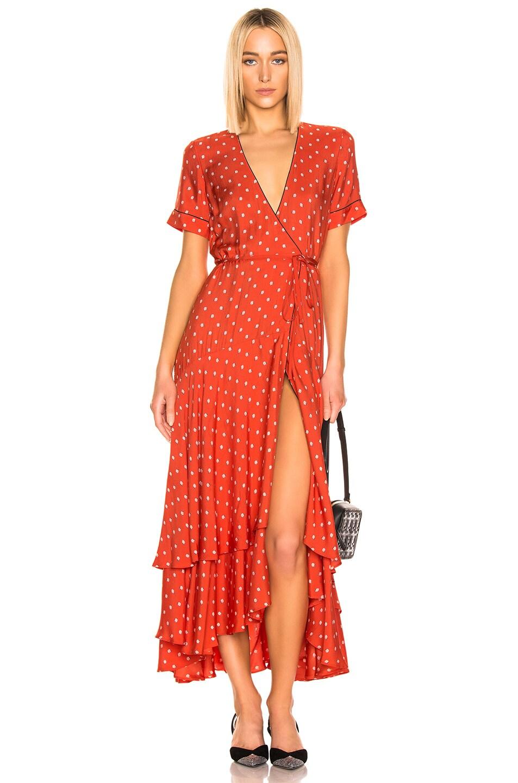 Image 1 of Alexis Sundara Dress in Mandarin Shell