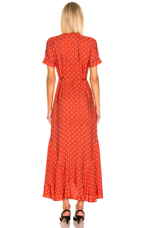 Image 3 of Alexis Sundara Dress in Mandarin Shell