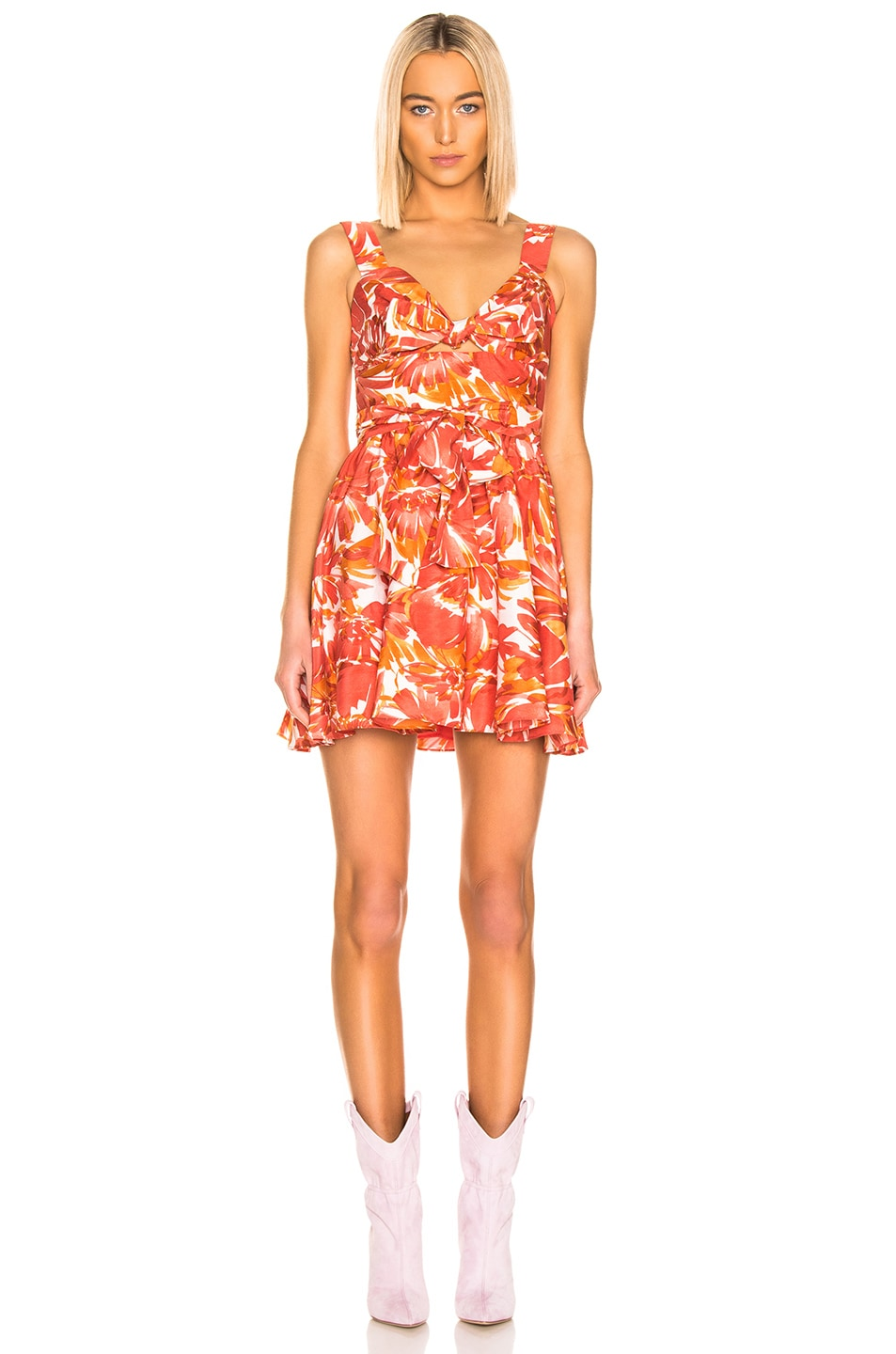 Image 1 of Alexis Ilda Dress in Watercolor Floral