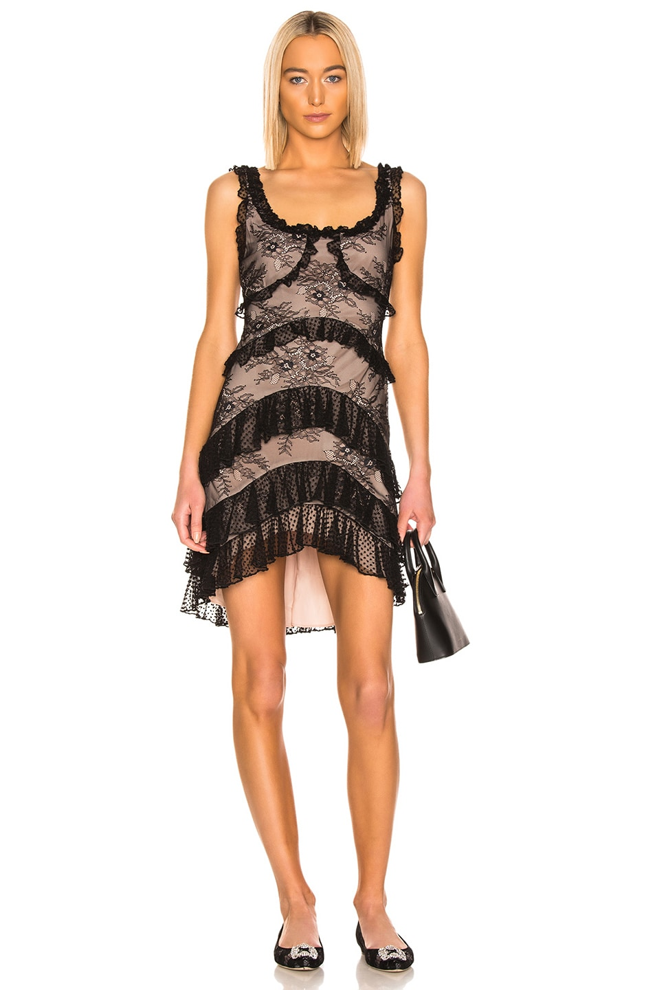 Image 1 of Alexis Helia Dress in Black Lace