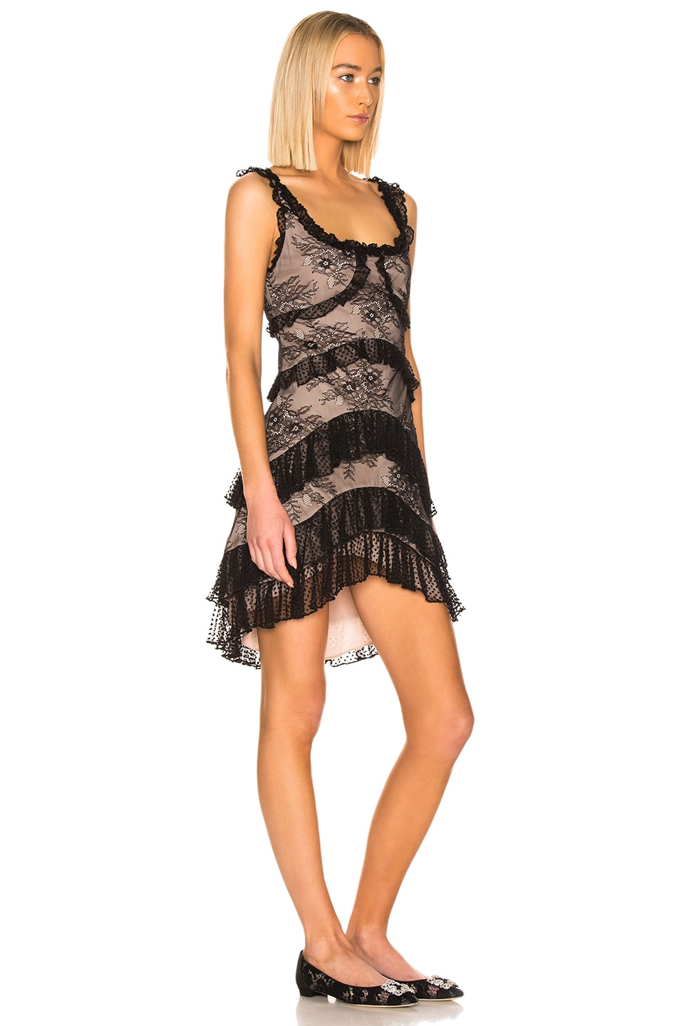 Image 2 of Alexis Helia Dress in Black Lace