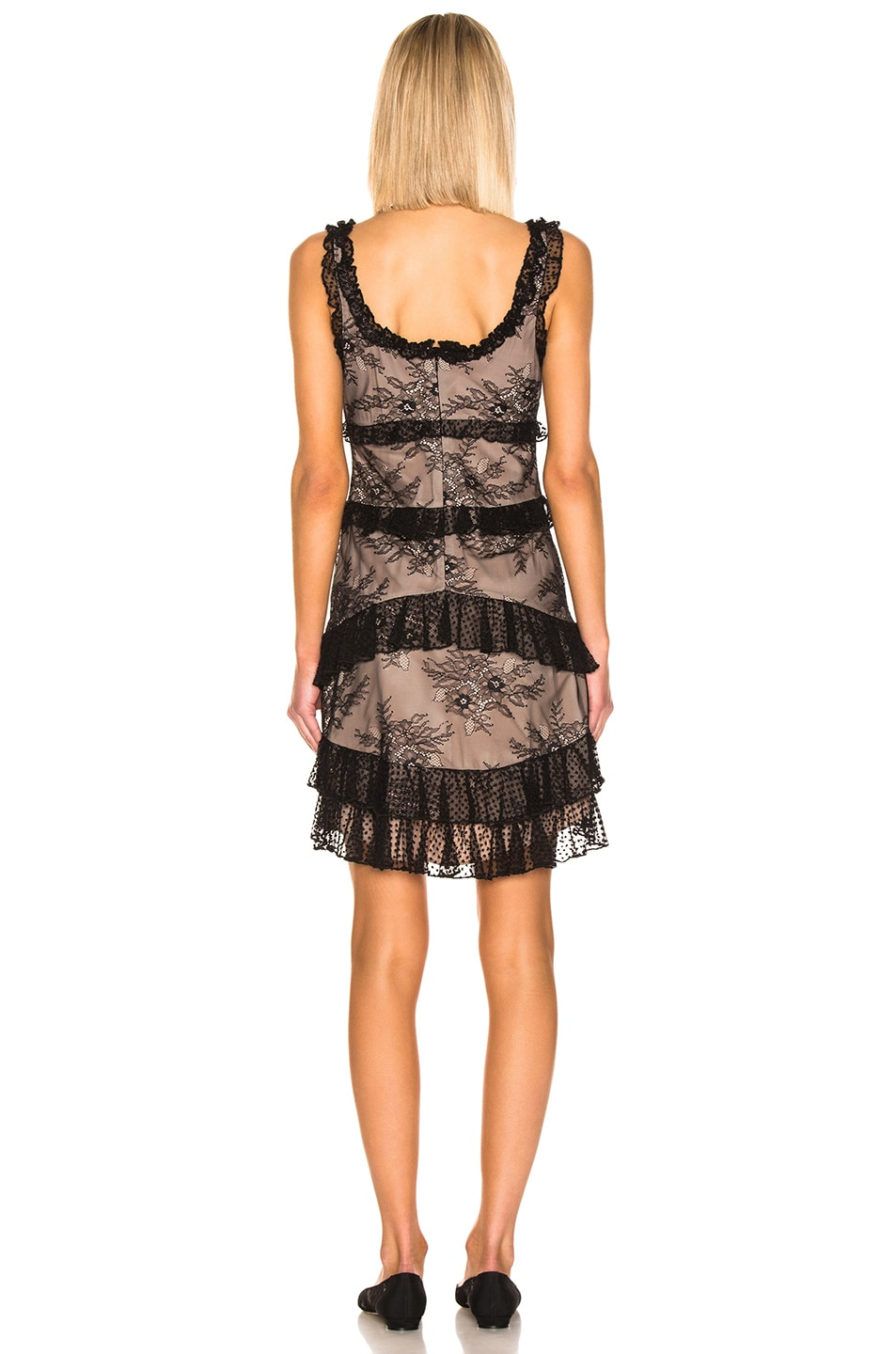Image 3 of Alexis Helia Dress in Black Lace