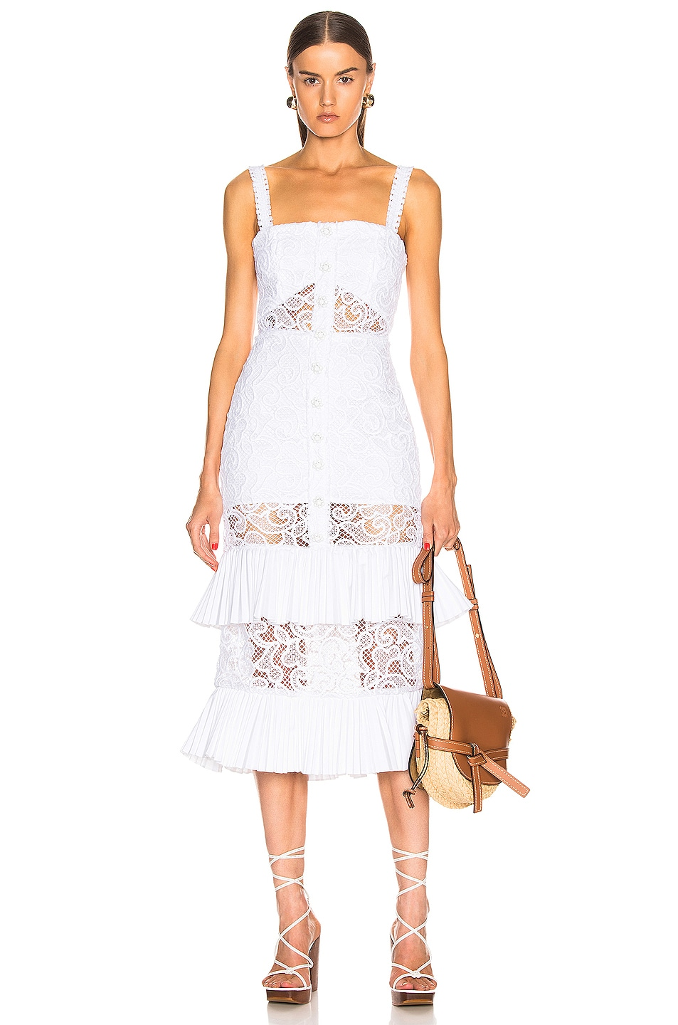 Image 1 of Alexis Lyssa Dress in White