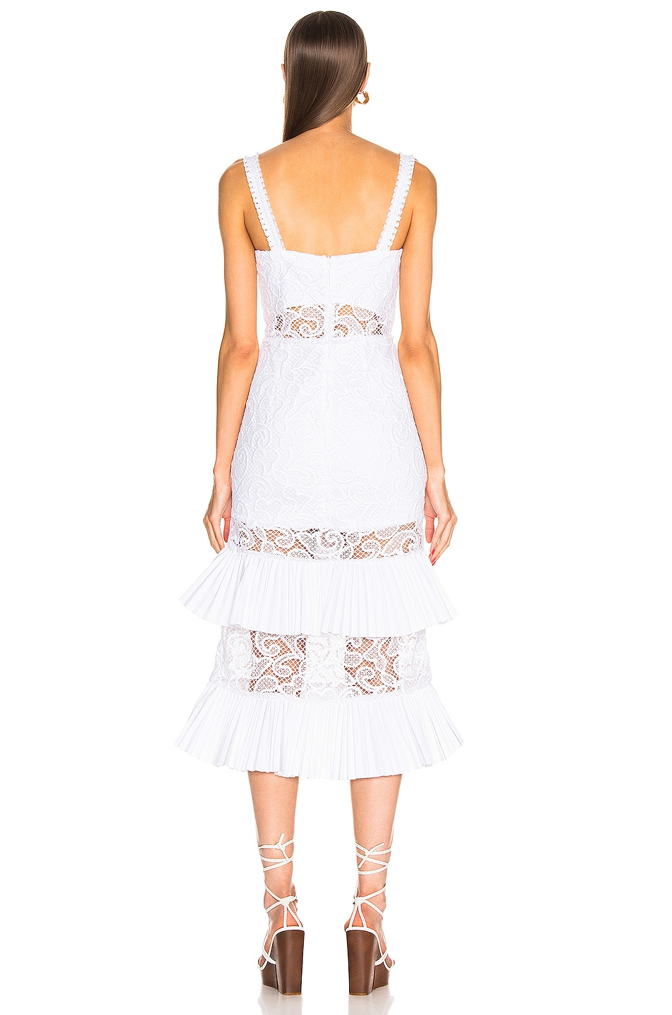 Image 3 of Alexis Lyssa Dress in White