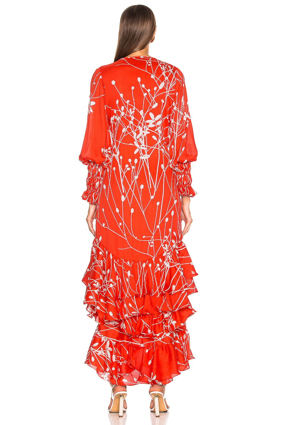 Image 3 of Alexis Rodina Dress in Coral Petals